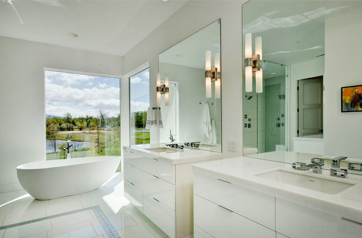 White Gloss Bathroom Furniture