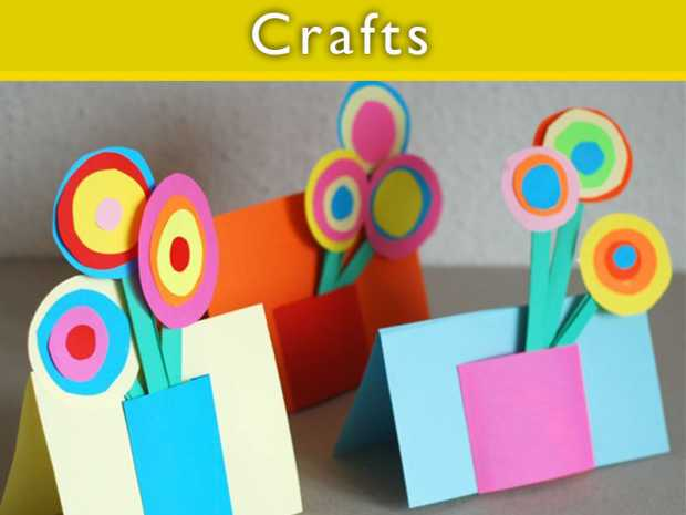 Creative Crafts For Kids Images Handicraft Ideas Home Decorating