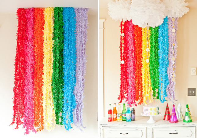 DIY Rainbow Decoration
