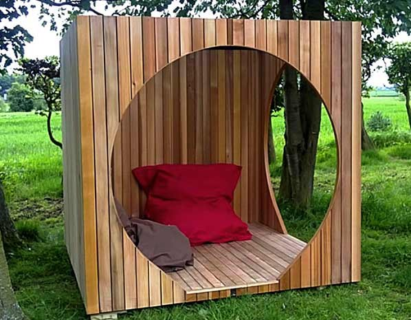 Garden Shed wooden modern style
