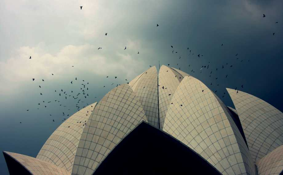 Lotus temple photography