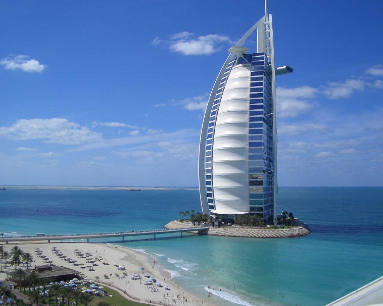 Burj AL Arab Jumeirah Beautiful Hotel HD Image