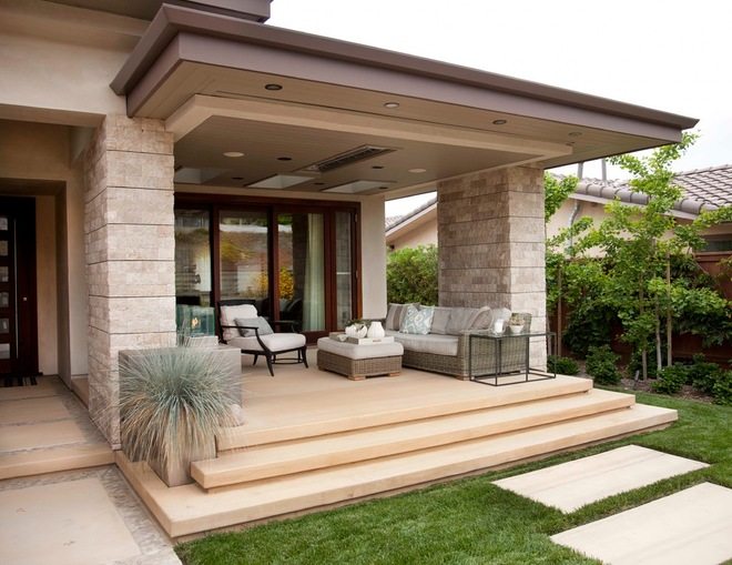 Contemporary Porch