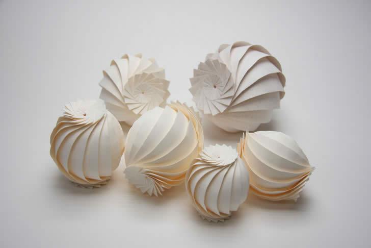 origami art shell