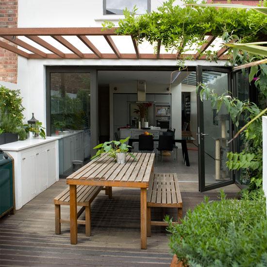 Garden Patio Designs Ideas! | My Decorative on Patio Cover Decorating Ideas id=93758