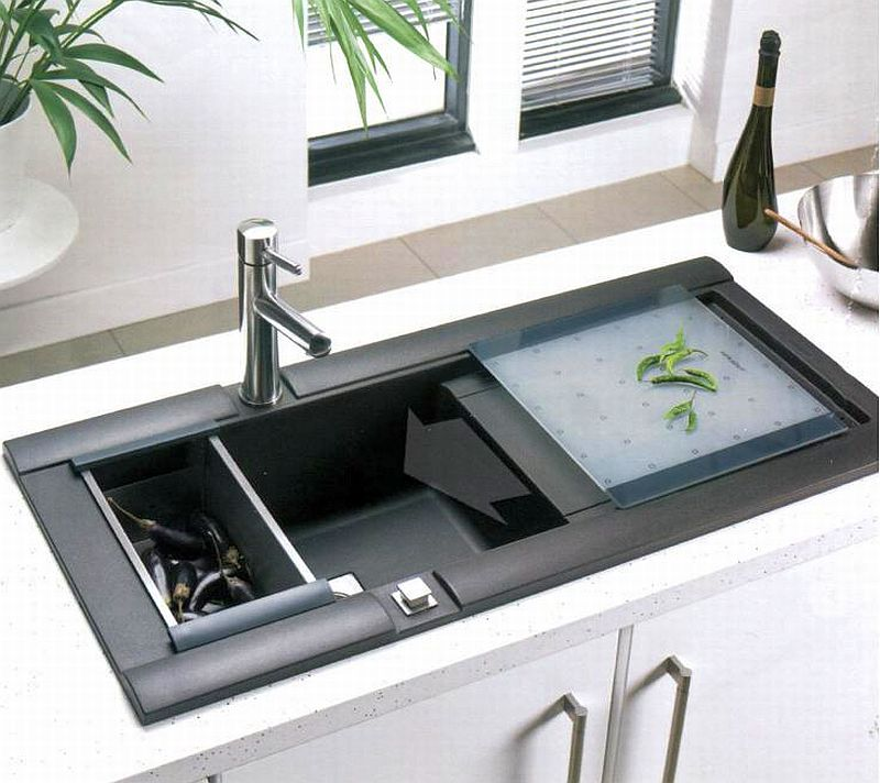 Unique Acrylic Kitchen Sink