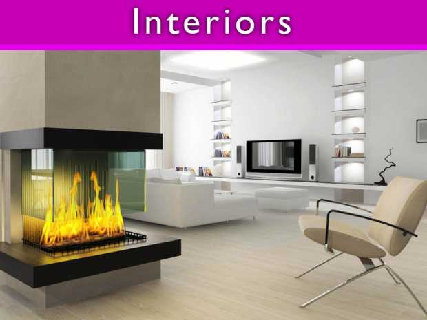 Beautify your house with Creative Fireplace Designs
