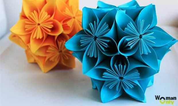 Origami Flower types