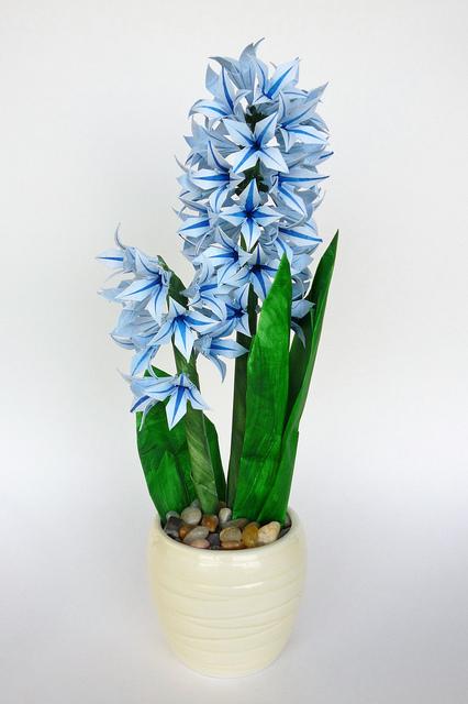 Origami Hyacinth Flower