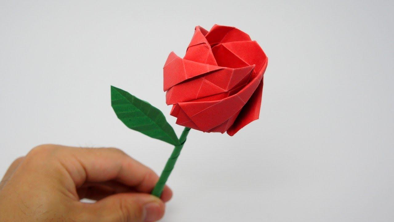 fresh, invigorating feeling and peaceful mood. A vase or origami