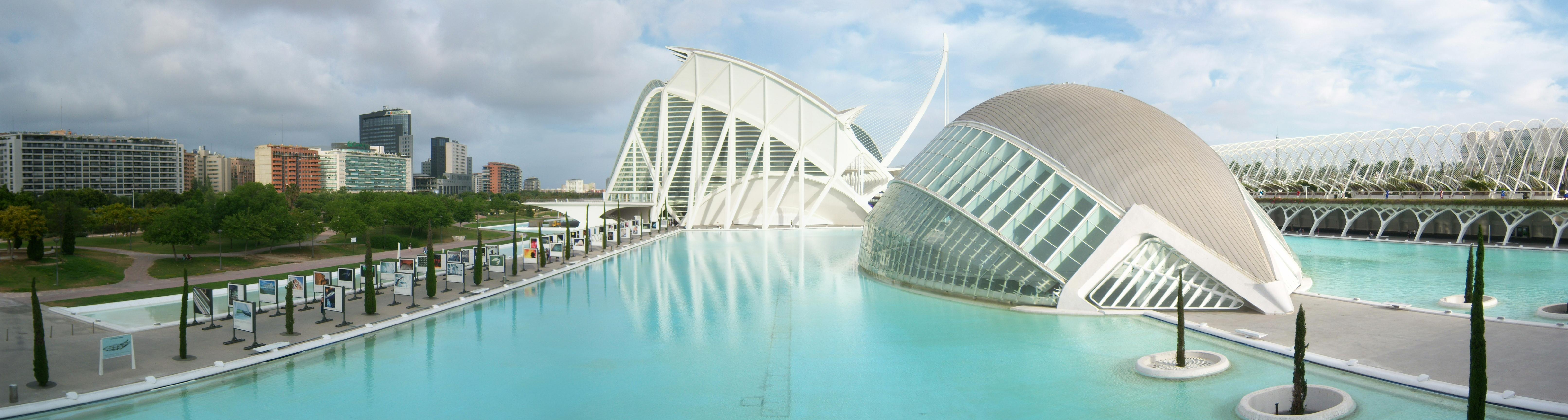 Prince Felipe Museum Of Science Panorama