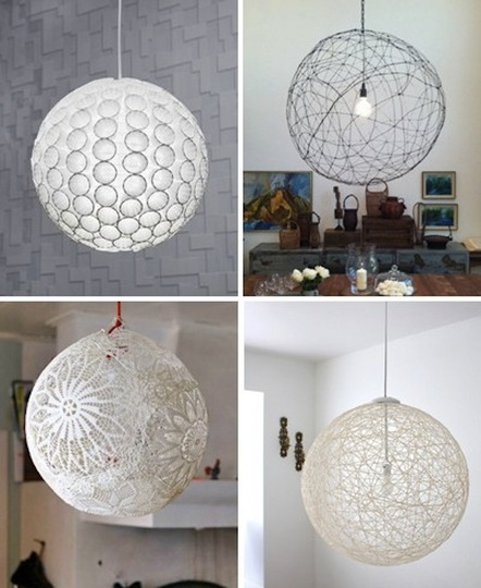 Thread Ball Lamp