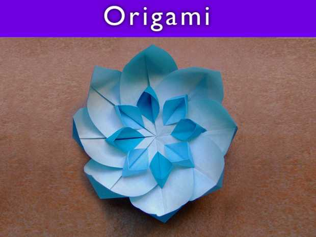 Variety of Origami Flower Designs featured Thumb