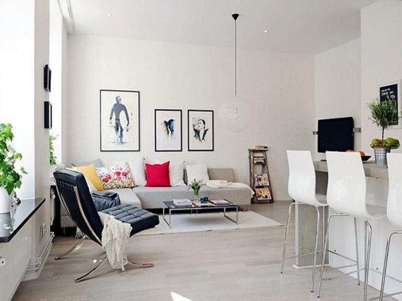 Fantastic Luxury Small Apartment Interior