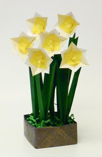 Origami Daffodils Flower