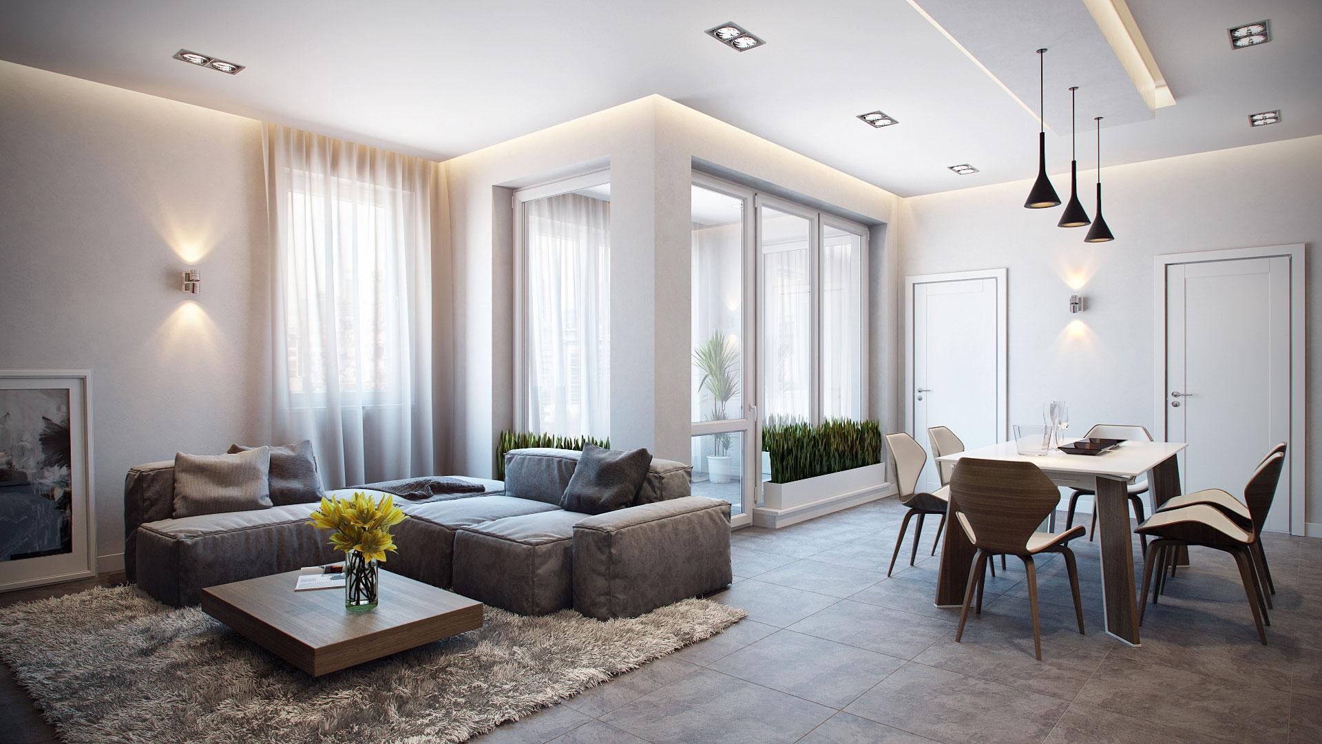 Stylish And Modern Apartment Interior Design