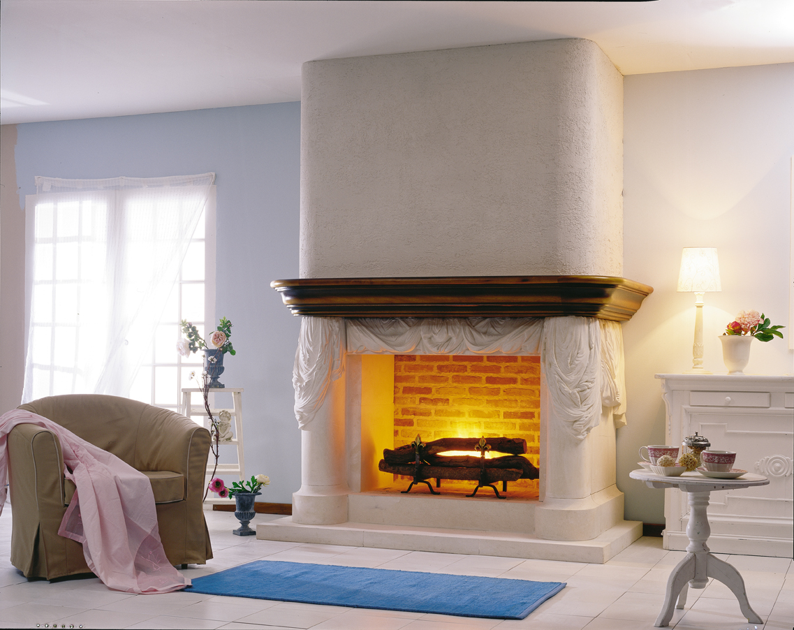 White Fireplace Mantel Designs