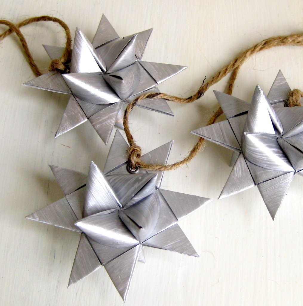 Make origami christmas ornaments my decorative for How to make paper christmas decorations at home