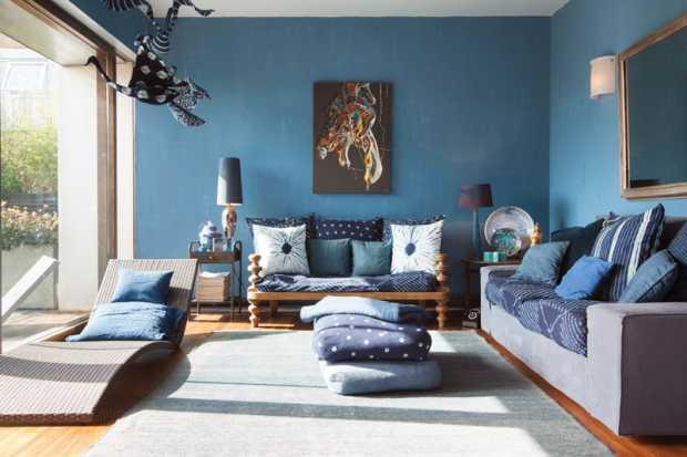 Blue Room Decor