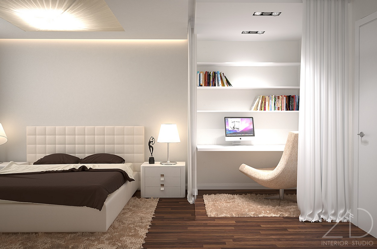 Modern small bedroom ideas