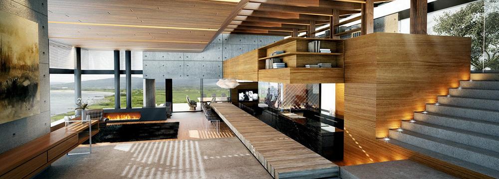 Modern interior Slider