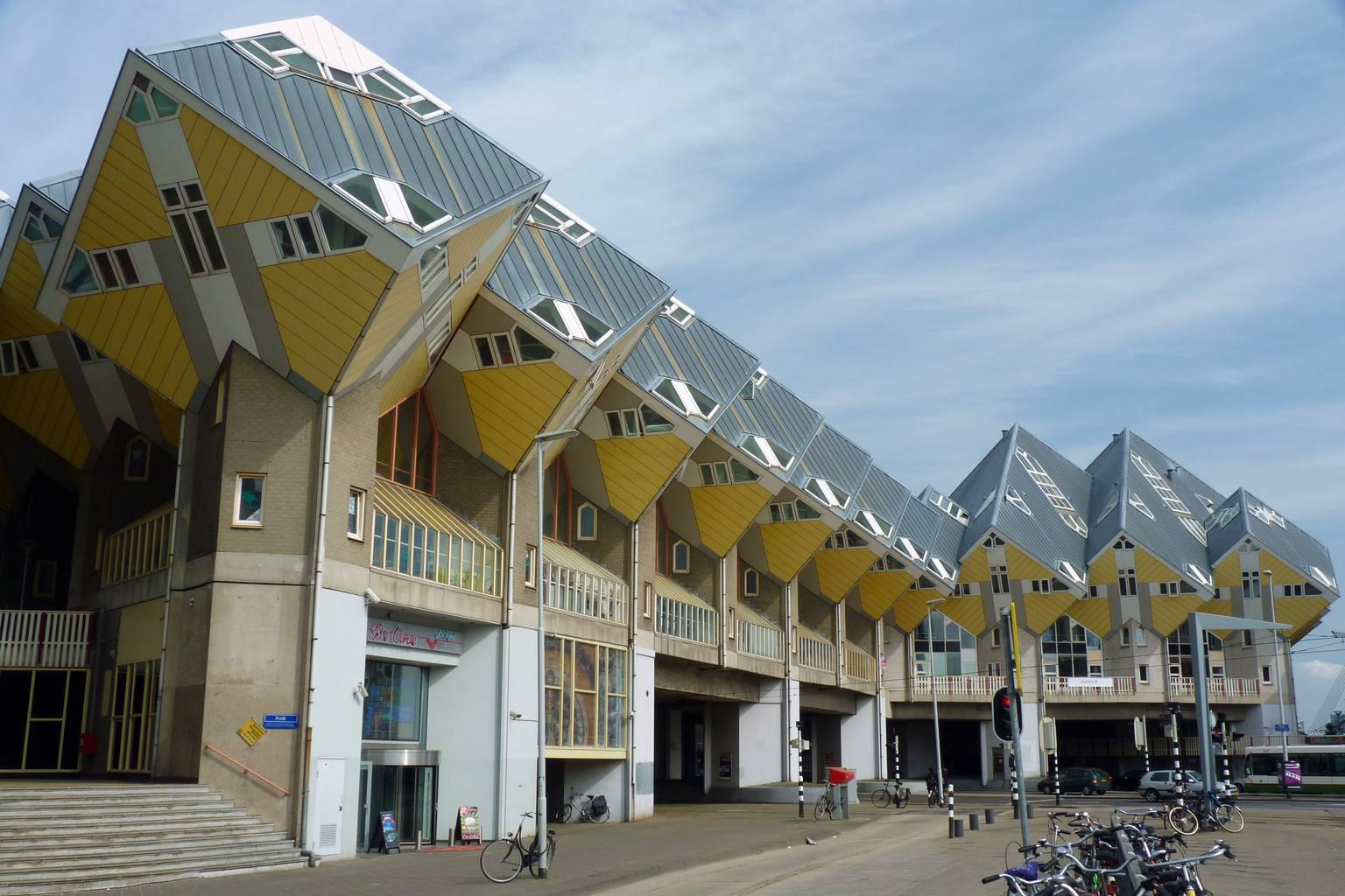 Rotterdam Cube House Street View