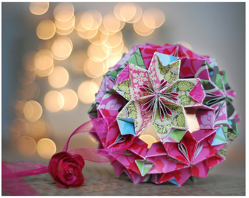 Make Origami Christmas Ornaments | My Decorative