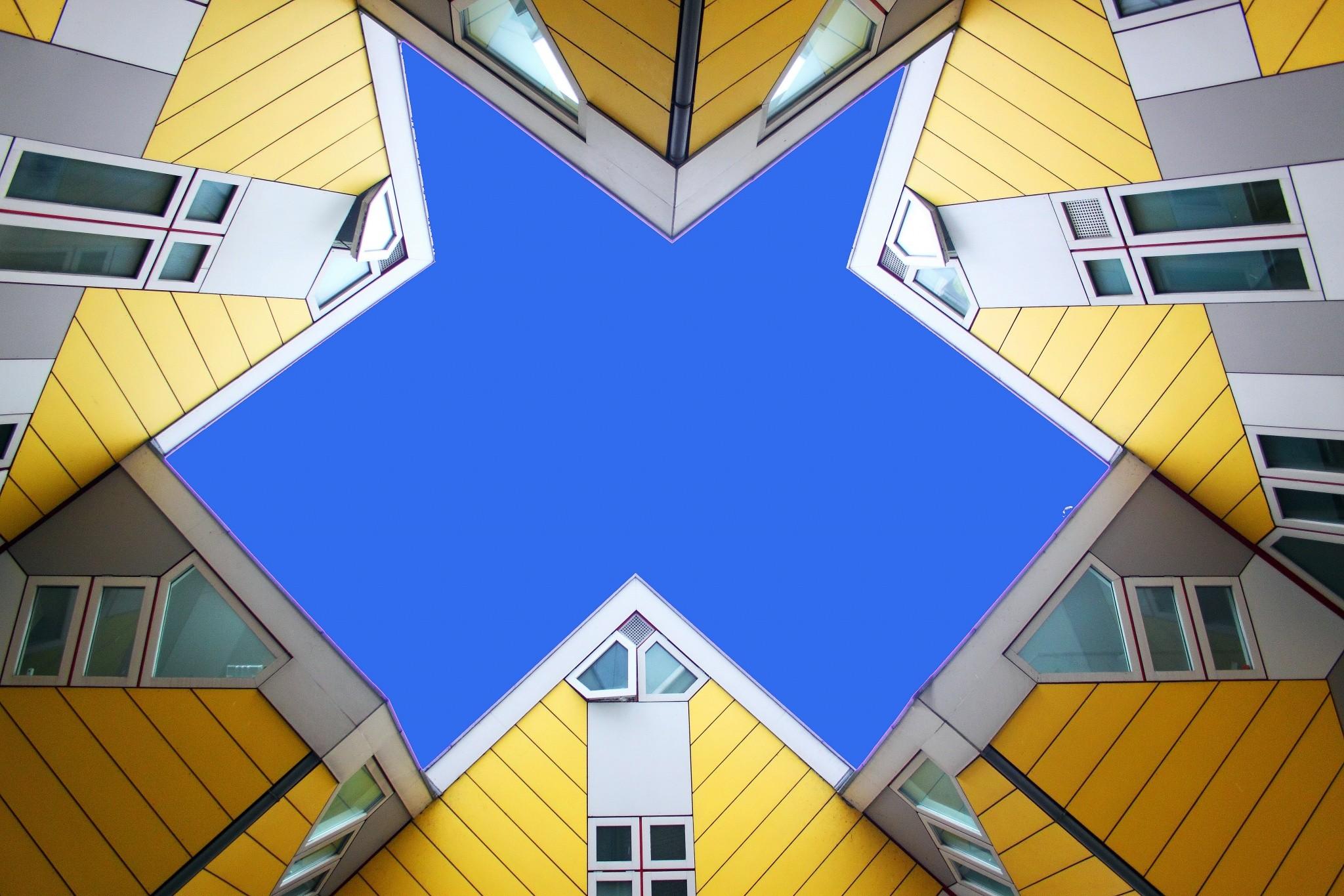 Kubuswoningen Cubic Houses Rotterdam Netherlands My
