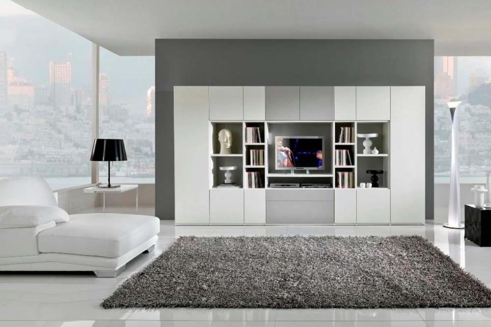 Modern Interiors Design White Color Themes With Grey Carpet Decor My Decorative