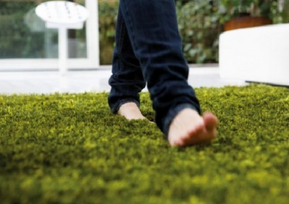 Walking In Green Rugs Garden Architecs Carpet