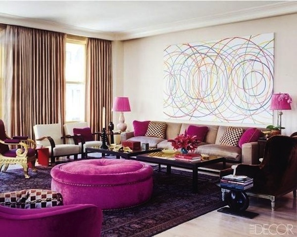 womens interior design_Radiant_Orchid