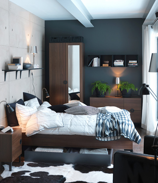 Ikea Small Bedroom Decorating Ideas