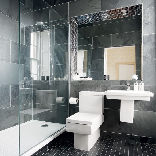 Modern Charcoal Bathroom