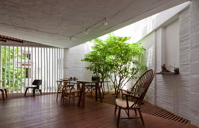 Modern interiors apartment indoor garden