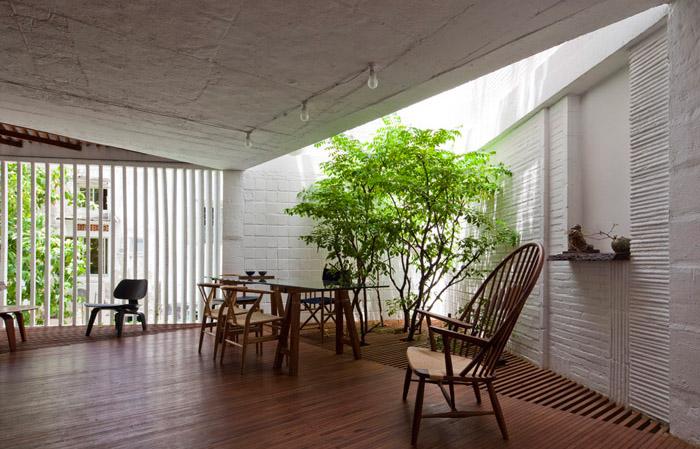 Modern interiors apartment indoor garden