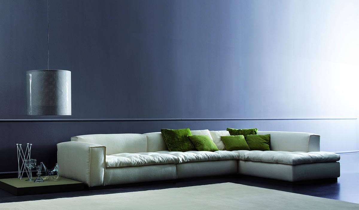 A detailed take on modern interior designs my decorative for Modern living room sofa