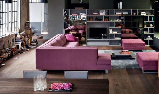 Novamobili-industrial-feminine-italian-living-room-design