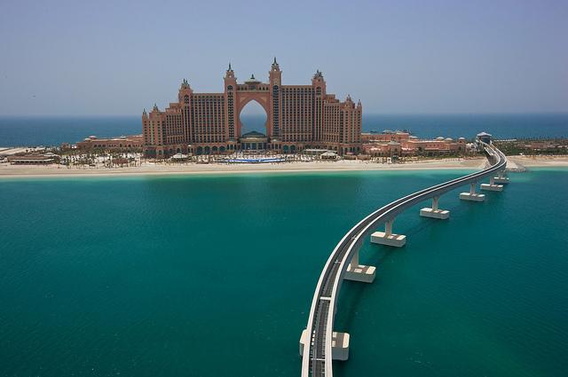 Palm islands Dubai