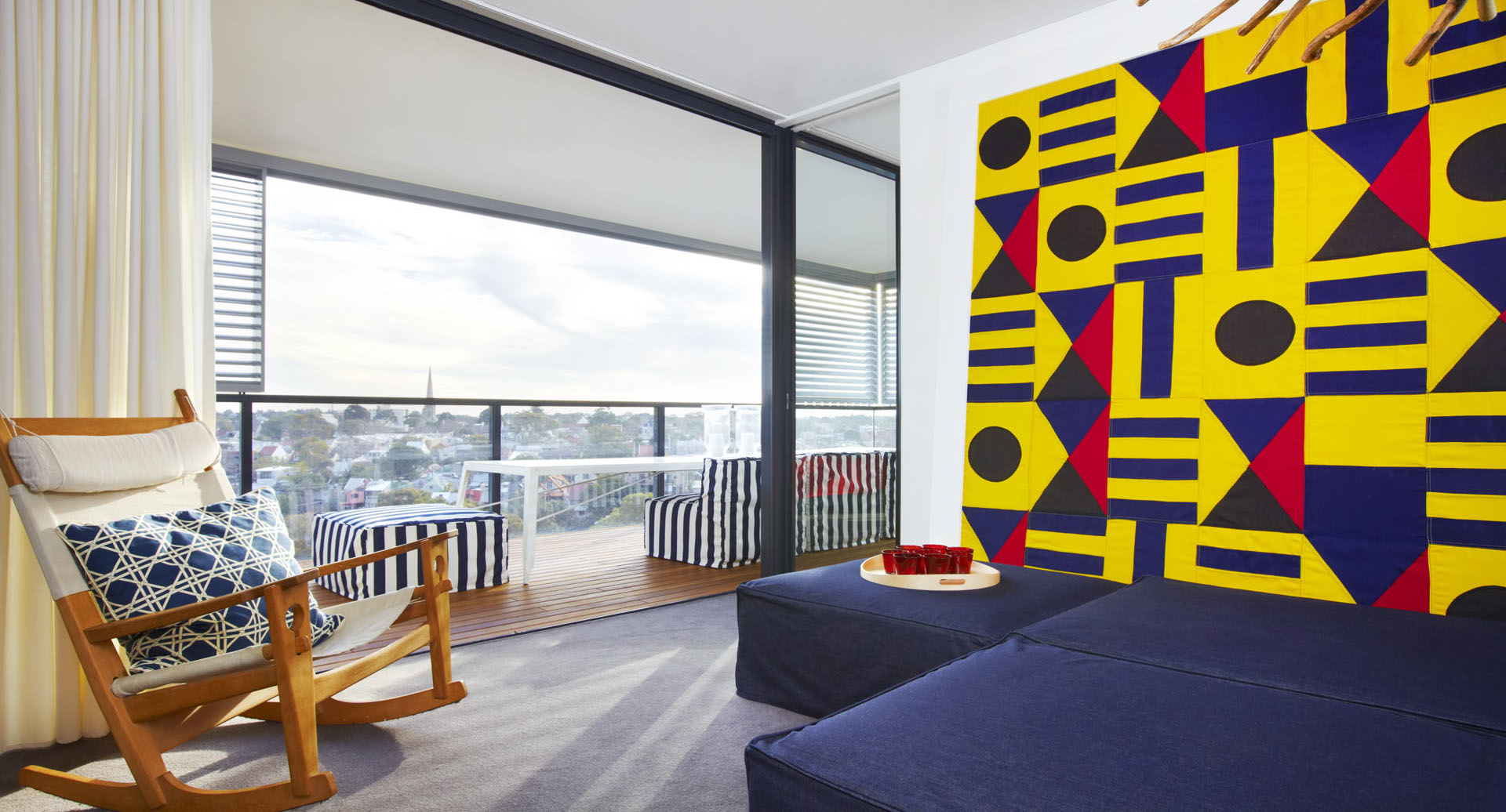 Bold Color Australia Interior Design