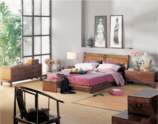 Chinese Designs for Balance Bedroom
