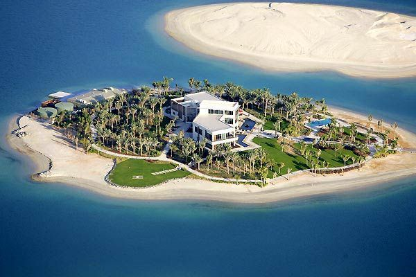 Dubai Palm Island Private Island