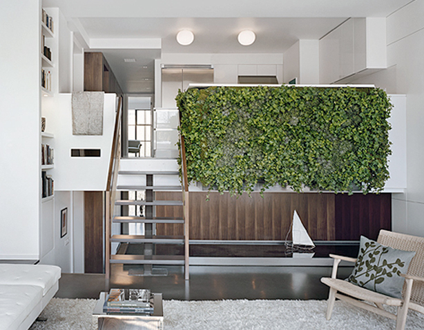Facing Vertical Urban Garden