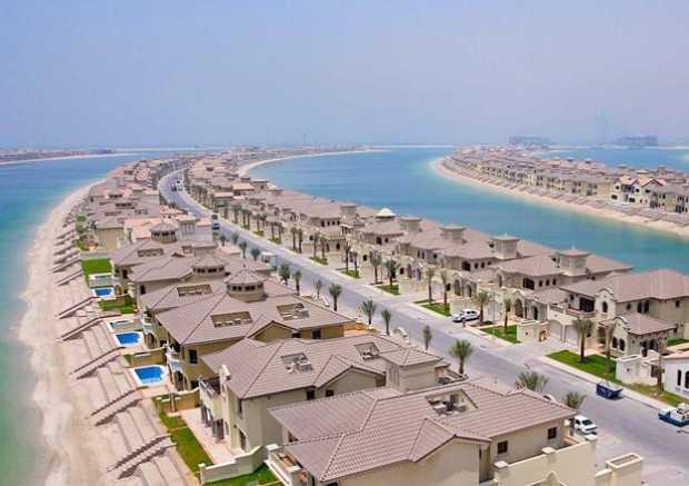 Palm Island of Dubai