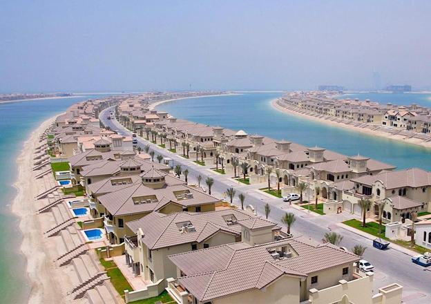 Palm Island of Dubai