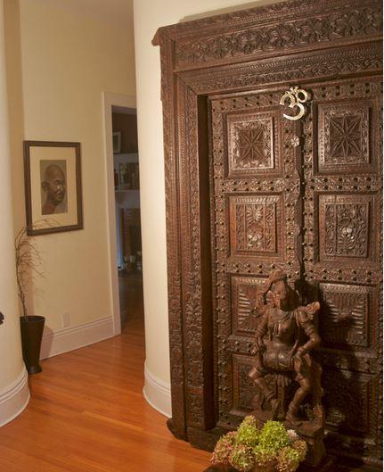 Vastu Shastra Modern Ethnic Interiors Door