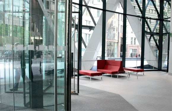 30 St Mary Axe Interiors