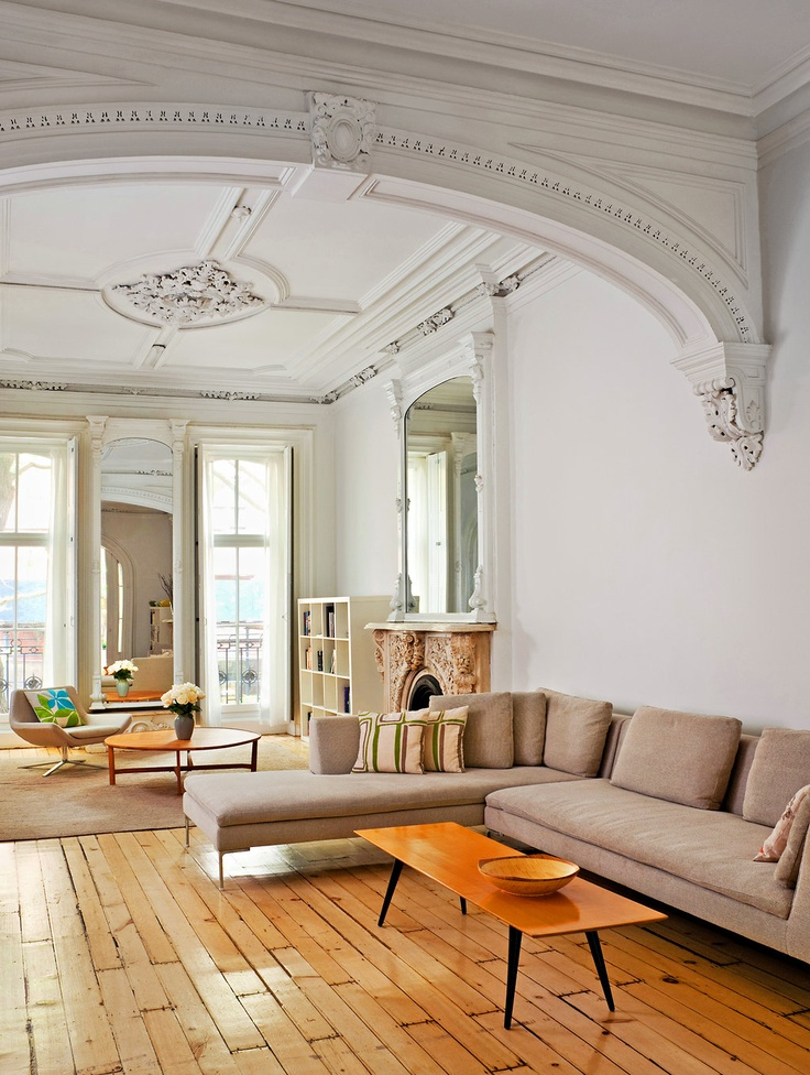 Classic Interiors with Beautiful Ceiling Moulding Designs