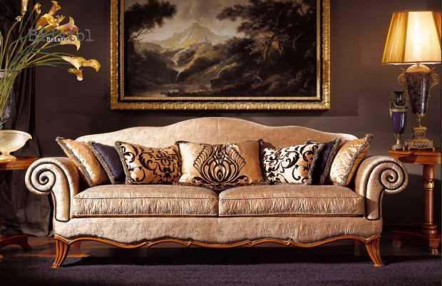 Elegant Classic Luxury Sofa