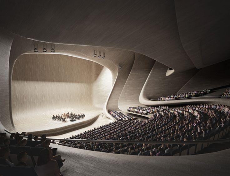 Zaha Hadid Heydar Aliyev Center Interiors
