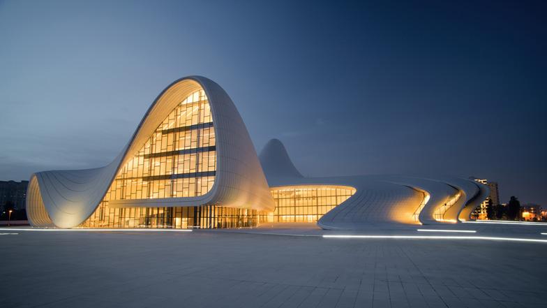 Dezeen Heydar Aliyev Centre Zaha Hadid Architects